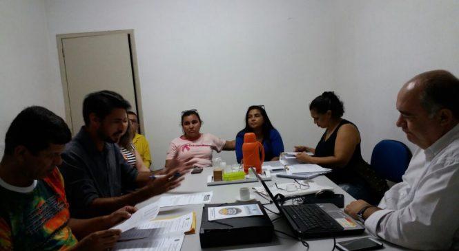 SERVIDORES DA SAÚDE, SINDICATO SINDAS E PREFEITURA MUNICIPAL REALIZARAM REUNIÃO NESTA QUARTA FEIRA (21)