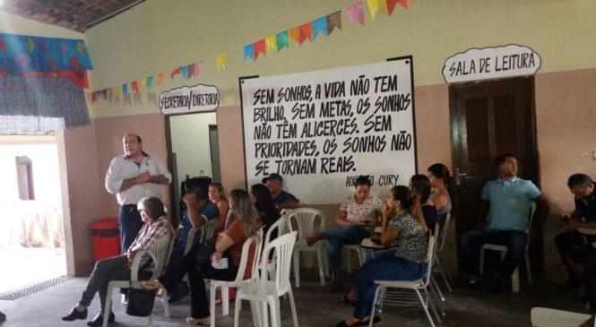 1ª OFICINA DE EDUCAÇÃO SANITÁRIA DO PLANO MUNICIPAL DE SANEAMENTO BÁSICO