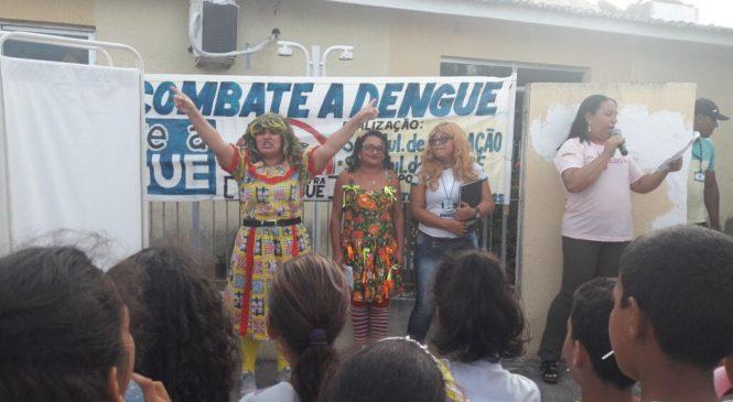 CAMINHADA DE MOBILIZAÇÃO PARA ALERTA NO COMBATE A DENGUE E CHINKUNGUNYA EM MONTANHAS